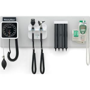 Welch Allyn 77792-MNOBP Green Series Integrated Diagnostic Wall System