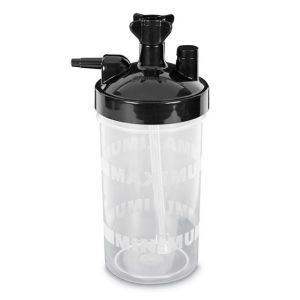 Bubble Humidifier up to 15 LPM w/ 6 PSI Safety