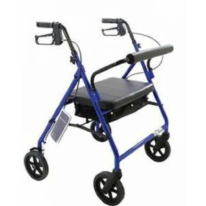 """Set N' Go Height Adjustable Rollator With 6"""" Casters"""