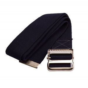 Cotton Gait / Transfer Belt with Metal Buckle