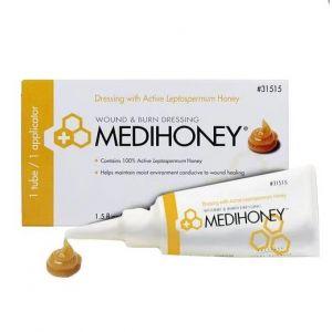 Medihoney Paste Dressing, 1.5 fl oz Tube, Applicator