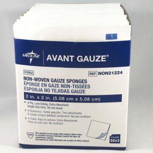 Avant Standard Sterile Non-woven Gauze Sponges