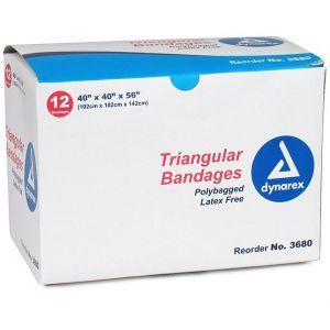 Triangular Bandages, Size 40 x 40 x 56